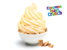 16 Handles Launches New Frozen Yogurt Flavor: Cerealiously Toasted, Made with Cinnamon Toast Crunch™ Cereal!
