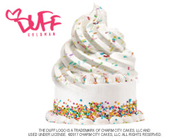 16 Handles Partners With Duff Goldman For Duff's Confetti Cake Ice Cream