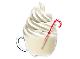 NEW FLAVOR ALERT: WHITE CHOCOLATE PEPPERMINT